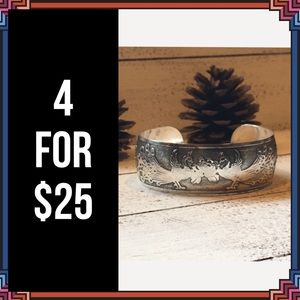 Jewelry - 4 FOR $25 🎁🎄🍾🥂 Peacock Tibetan Bangle Bracelet